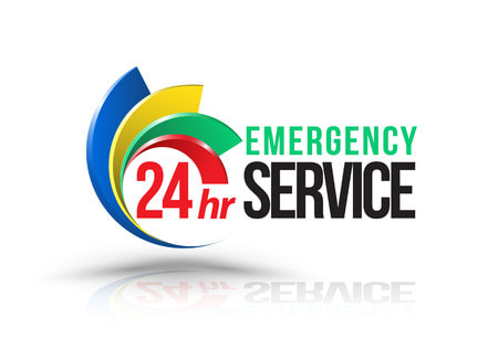 24 hour emergency service icon for dale old wrecker roadside assistance and towing